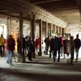 Renaissancesaal des Rittergutes Knau
