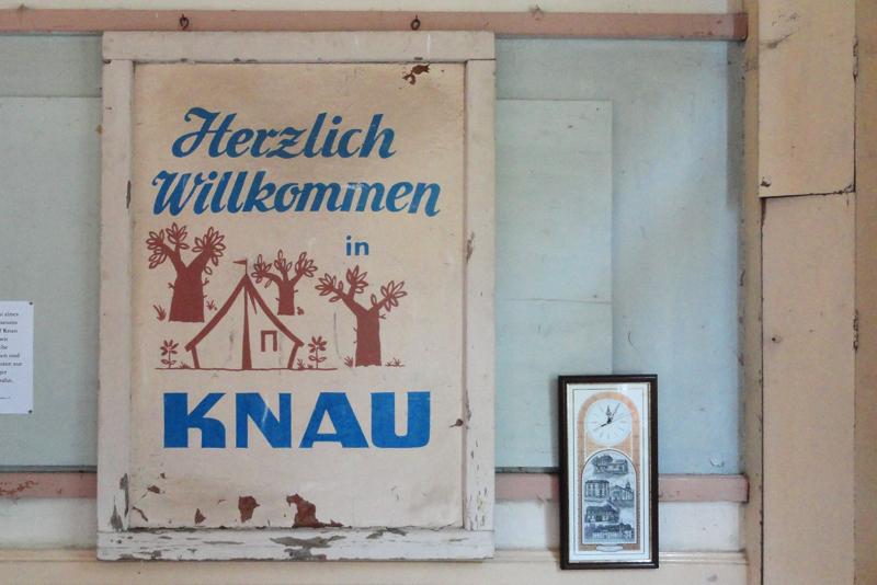 Museumsbahnhof Knau