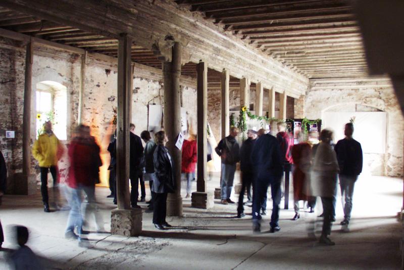 Renaissancesaal des Rittergut Knau